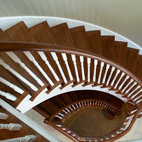 Custom stairs installation