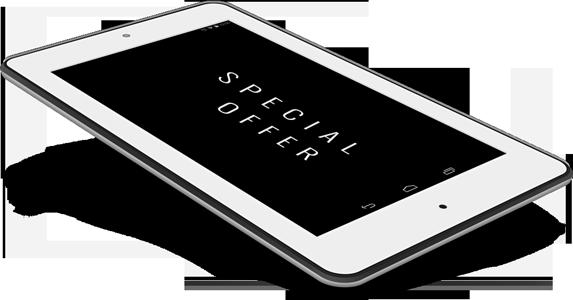 Promotional Samsung Tablet